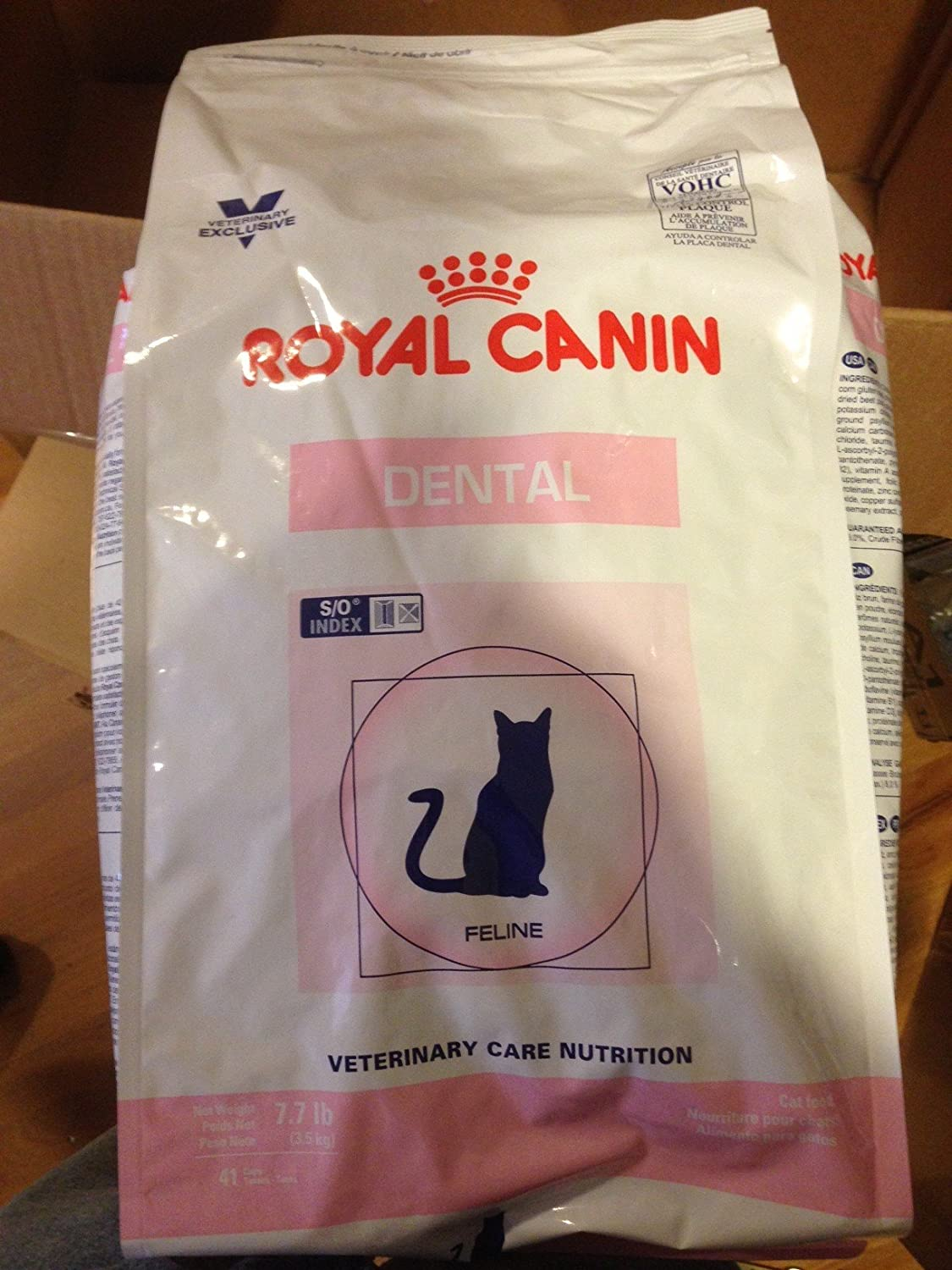 Royal Canin Feline Dental Cat Food Dry 7.7 Pound Bag (3.5 kg) For Cats and Kittens