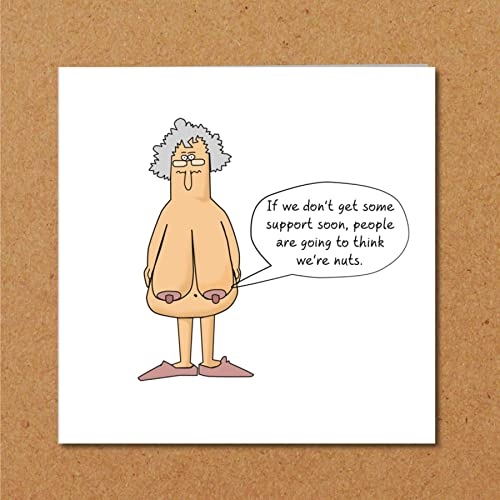 Funny Birthday Card 40th 50th 60th Birthday For Wife Mum Grandmother
