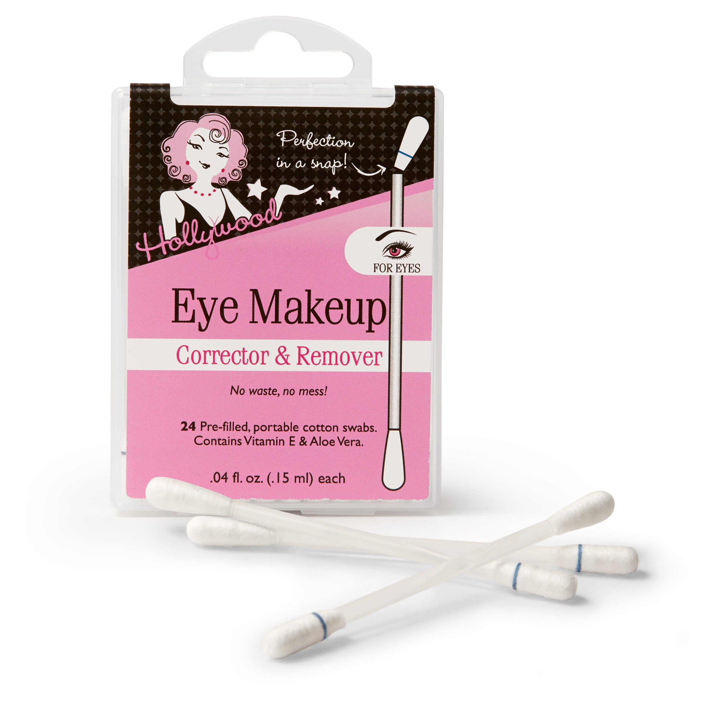 Hollywood Fashion Secrets 24 Piece Make-Up Ramoving Swabs