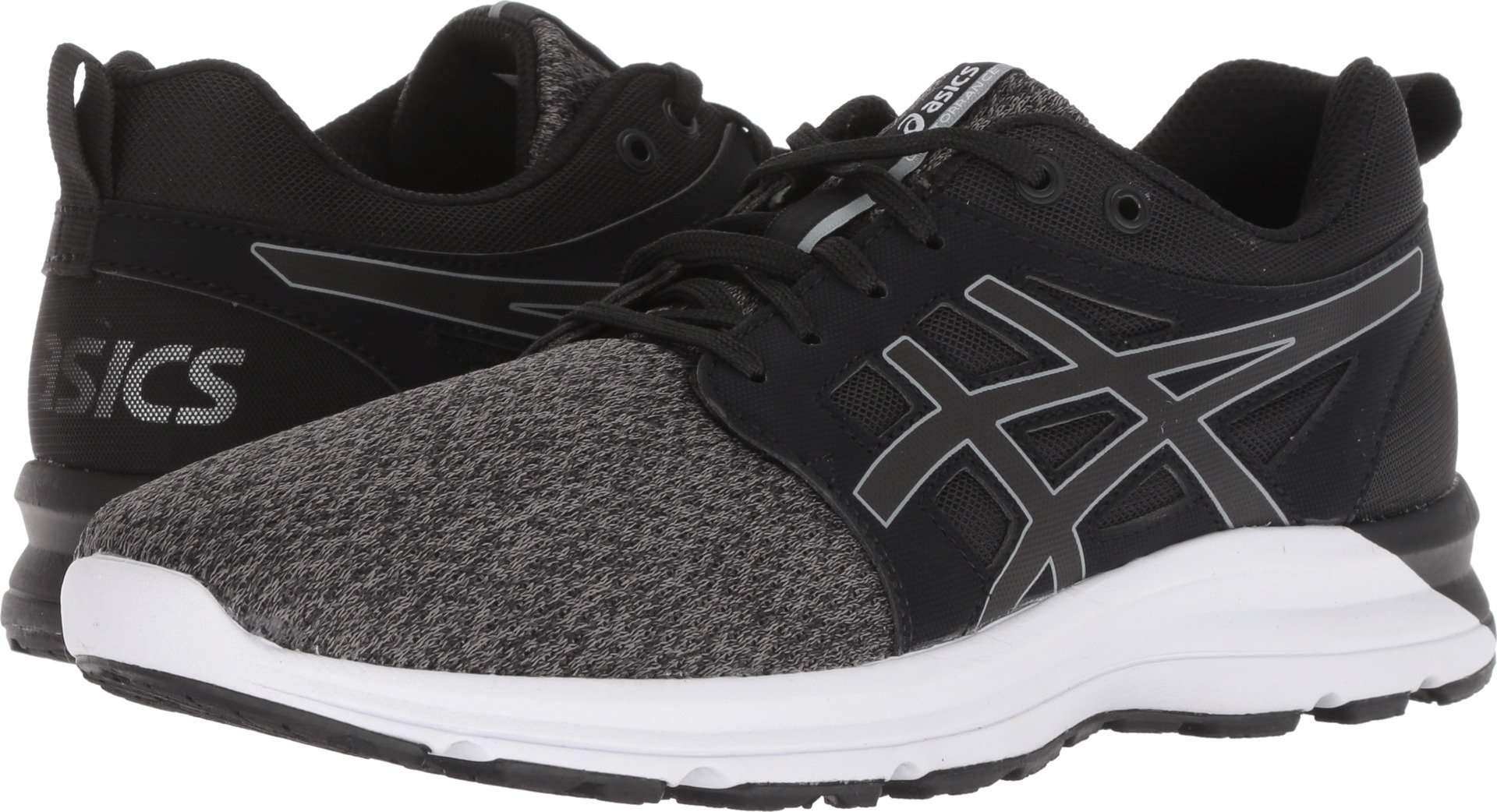 ASICS 1022A049 Women's Torrance Running Shoe, Black/Stone Grey - 6.5 B(M) US