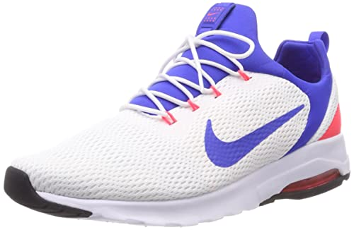 sale retailer 14610 bf7e4 Nike Men s Air Max Motion Racer, White Ultramarine-Solar RED-Off White