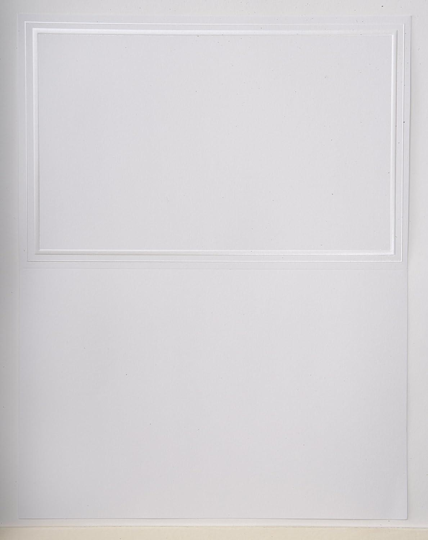 Gartner Studios 61407 Bifold Print at Home Program, Pearl White Border
