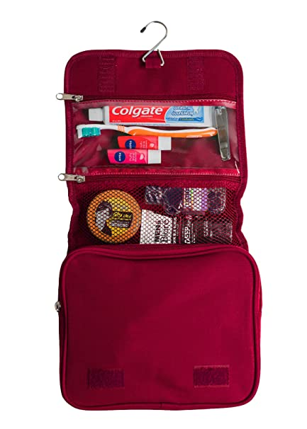 11f610c547ea Hanging Toiletry Bag For Women or Men Travel Toiletries Organizer Wash Bag  Kit