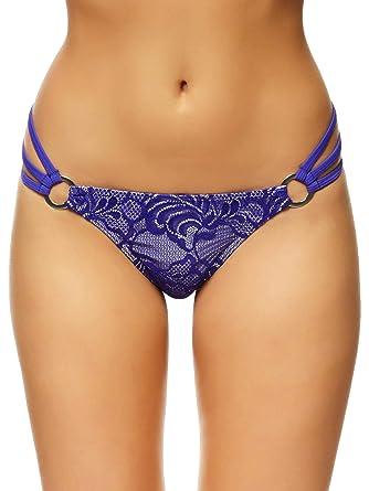 3fe5676feb5 Ann Summers Womens Mai Lace Bikini Bottom Sexy Swimwear Purple 8 ...