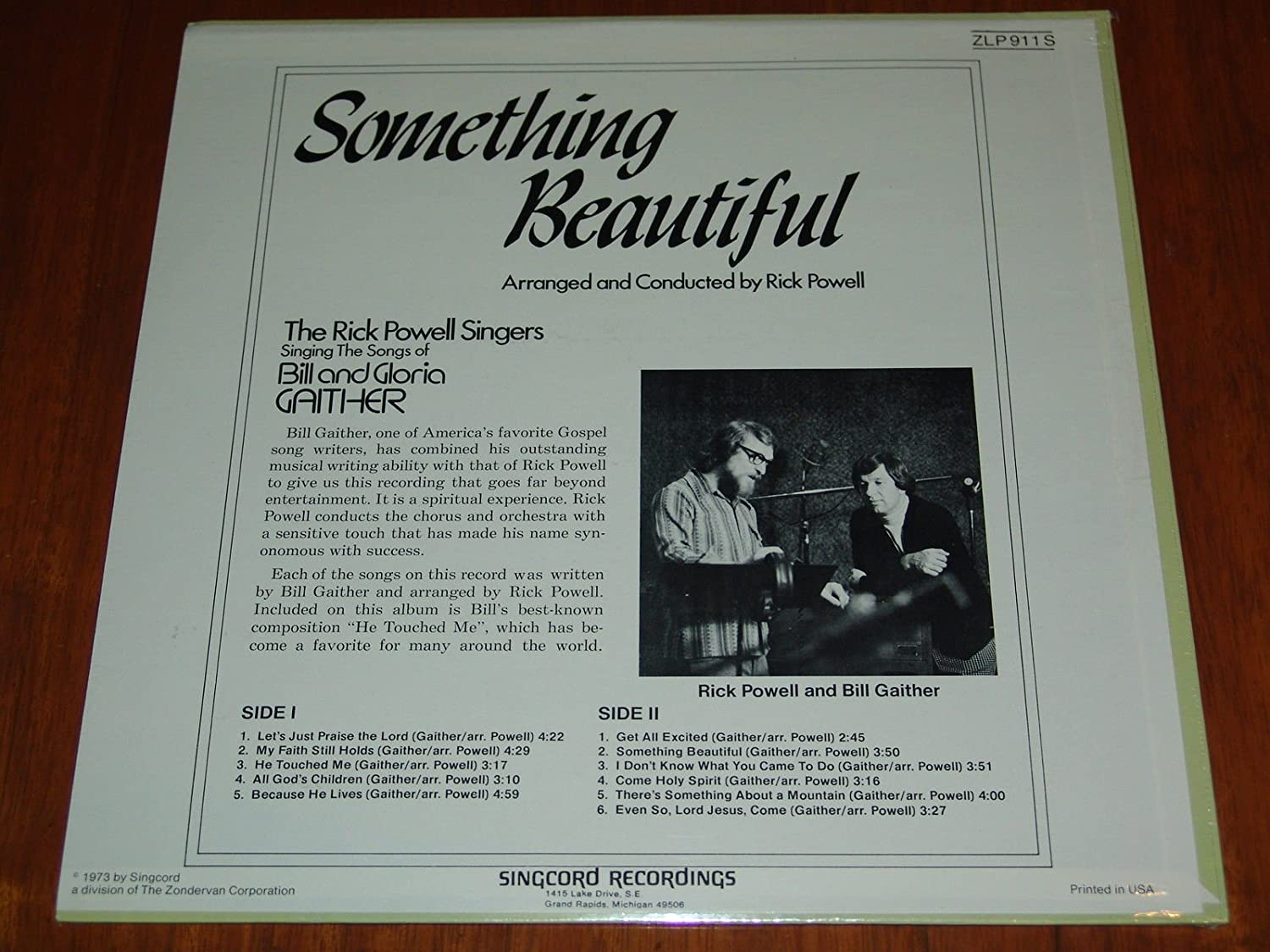 The Rick Powell Singers - Something Beautiful : The Songs of