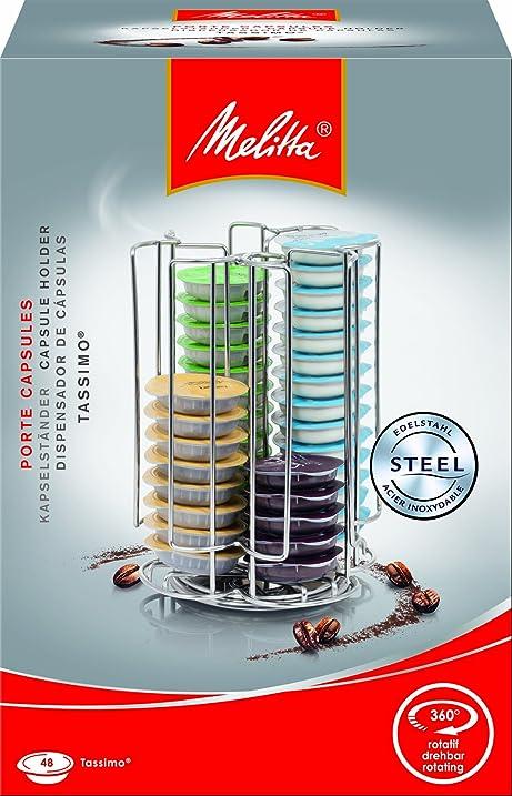 Melitta 6678920 Supports Dosettes rotatif pour capsules Tassimo