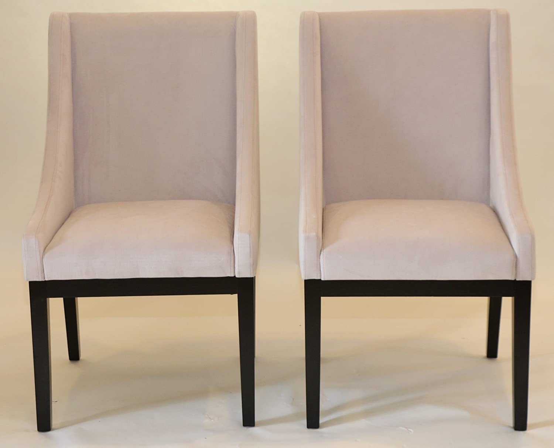 Amazon com  Home Life Contemporary Microfiber Modern Sofa Arm Chairs  Set  of 2   Beige  Kitchen   Dining. Amazon com  Home Life Contemporary Microfiber Modern Sofa Arm