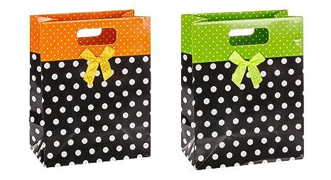 Amazon.com: TSI 85019 - Bolsas de regalo con cinta (12 ...