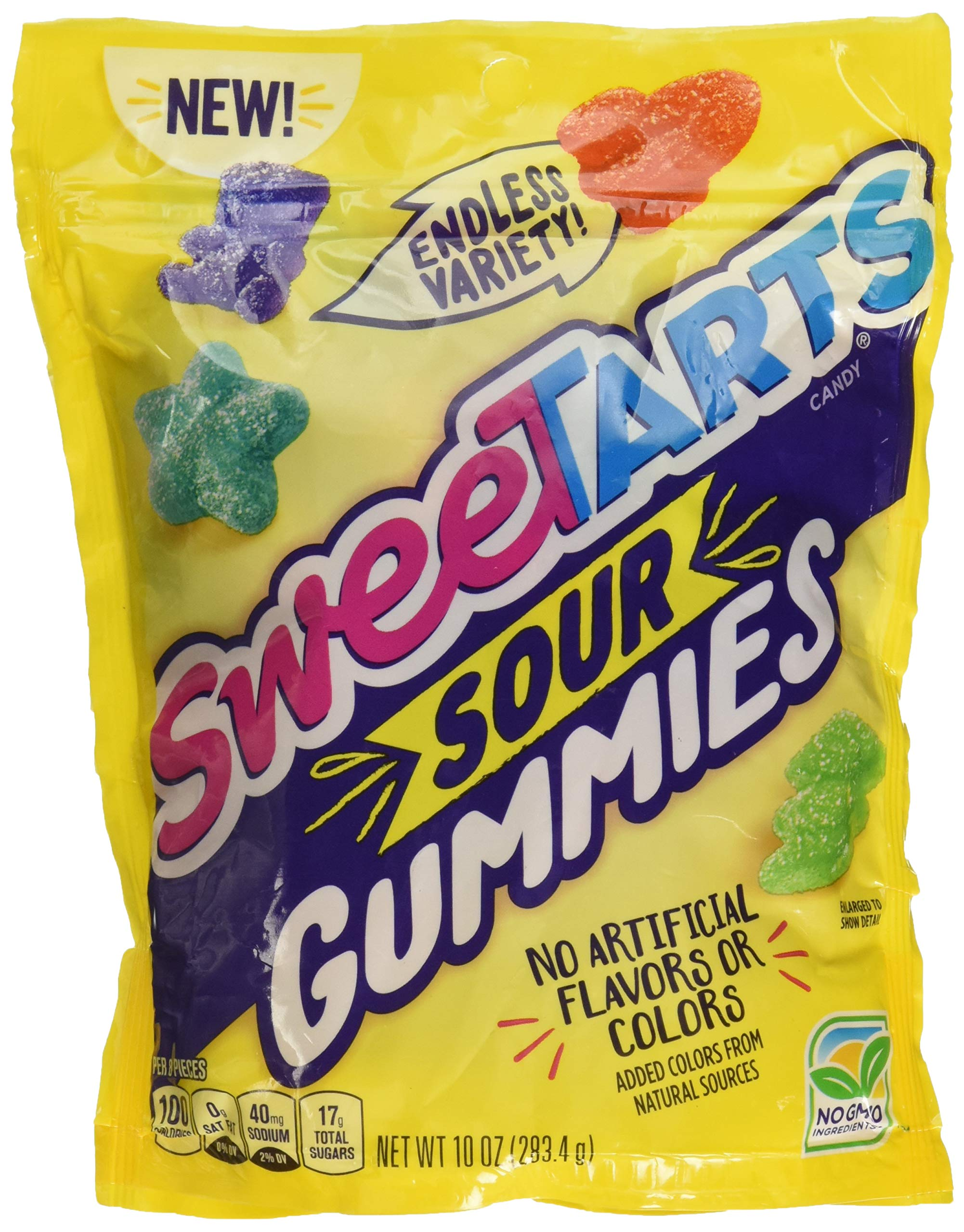 SweeTARTS Chewy Sours Re-sealable Bag, 10 Ounce (Pack of 1) by SweeTARTS