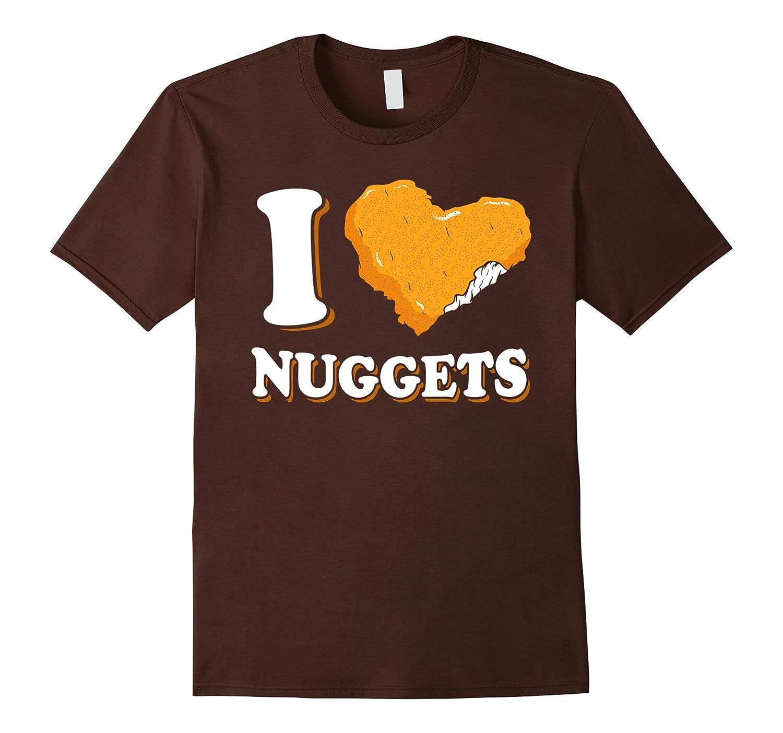 I Heart Nuggets T-Shirt-Art