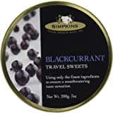 Simpkins Black Currant Candy Drops 7 oz
