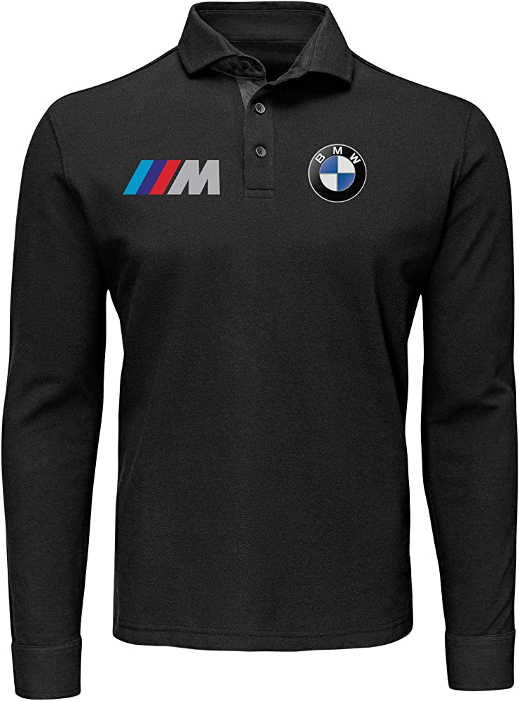 Polo de Manga Larga T-Shirt Deportiva Hombre BMW MPower Motorrad ...