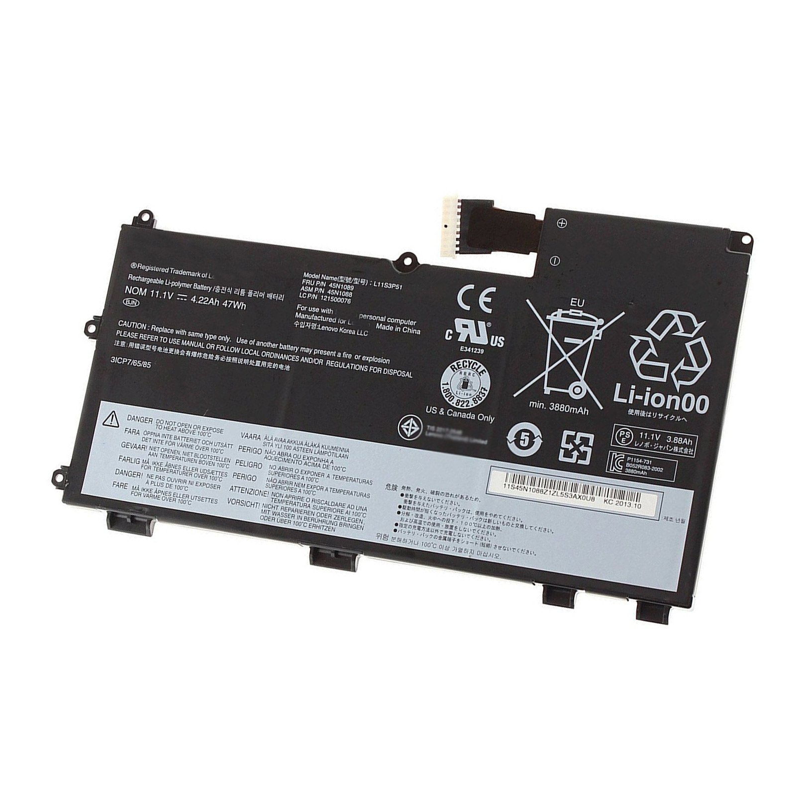 Bateria L11N3P51 L11S3P51 L12L3P51 4220mAh/47Wh Lenovo Think
