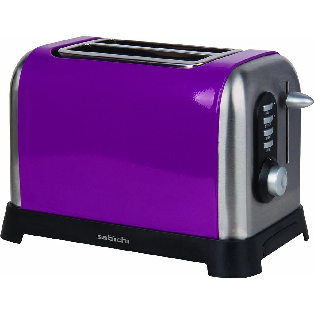 Sabichi I'm A 2 Slice Toaster Purple