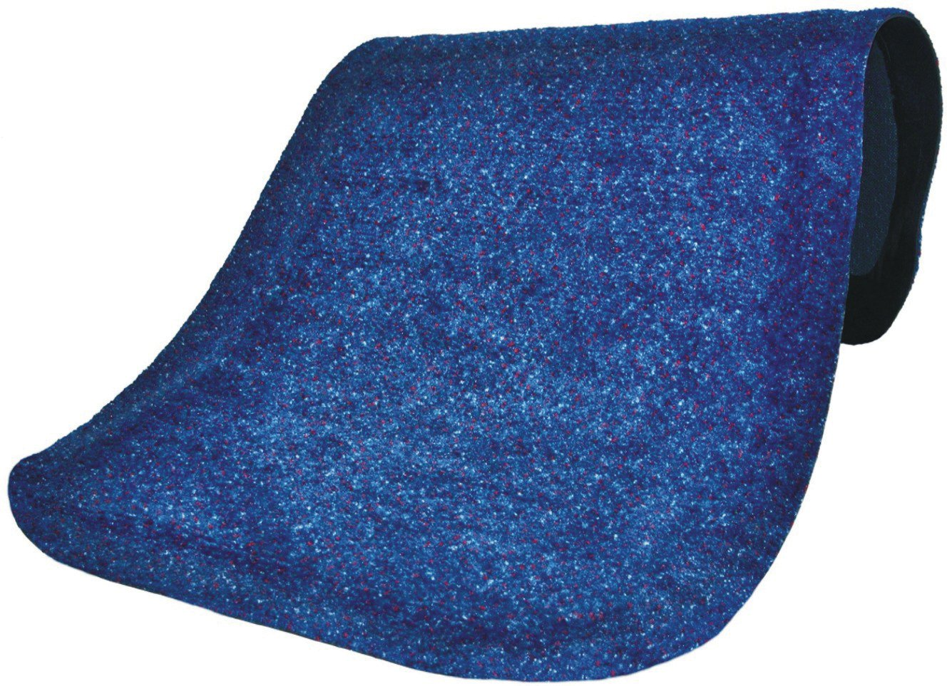Andersen 446 Navy Spice Nylon Hog Heaven Plush Anti-Fatigue Mat, 5' Length x 3' Width x 5/8'' Thick, For Indoor