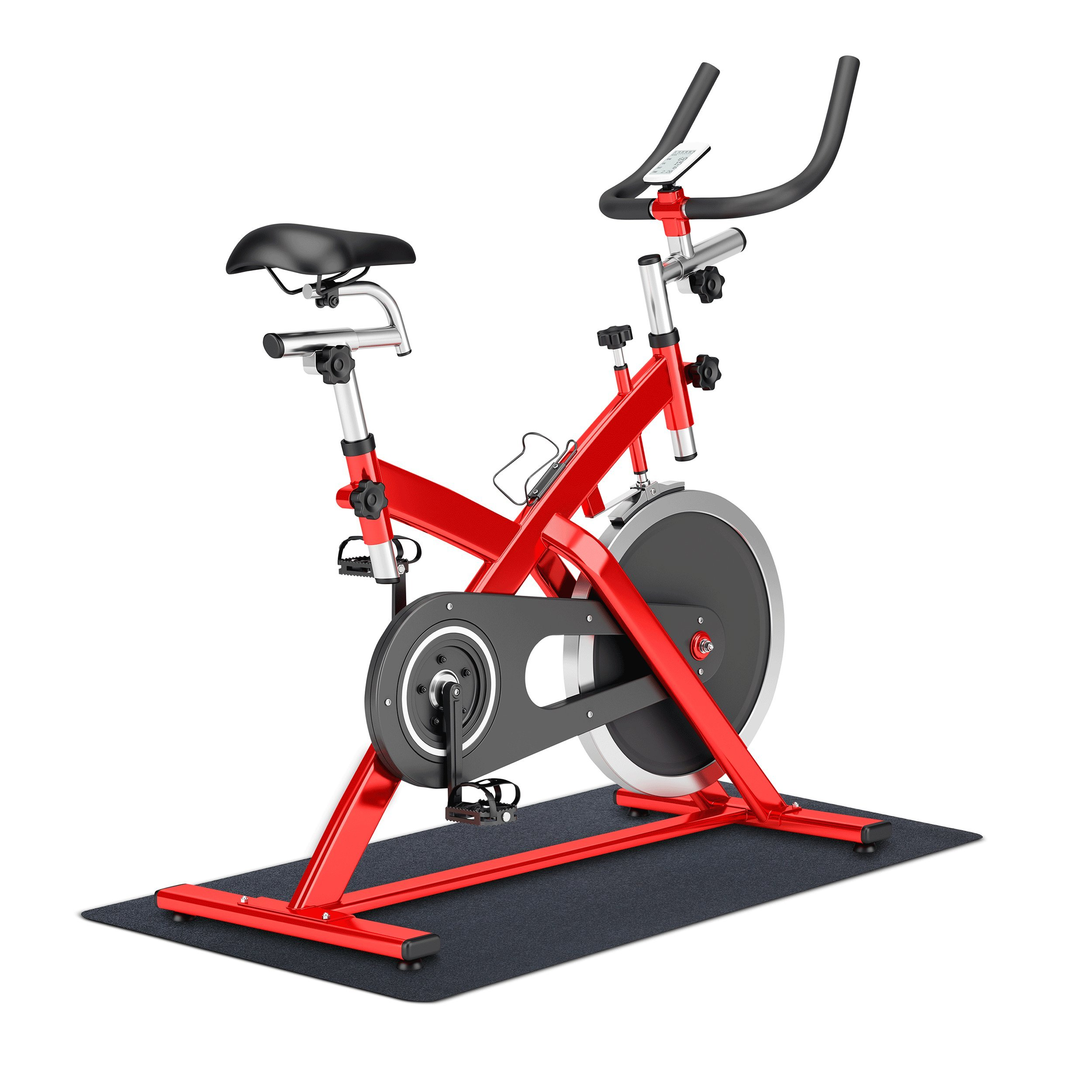 MotionTex 8M-110-24C-5 Fitness Equipment Mat, 24'' x 60'', Black
