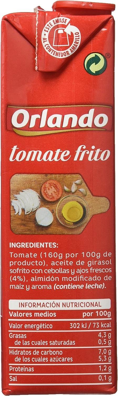 Orlando - Tomate Frito, 350 g: Amazon.es: Alimentación y bebidas
