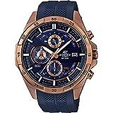 [カシオ]CASIO エディフィス EDIFICE 100m防水 ブルー&ゴールド クロノグラフ EFR-556PC-2A メンズ 腕時計 [並行輸入品]