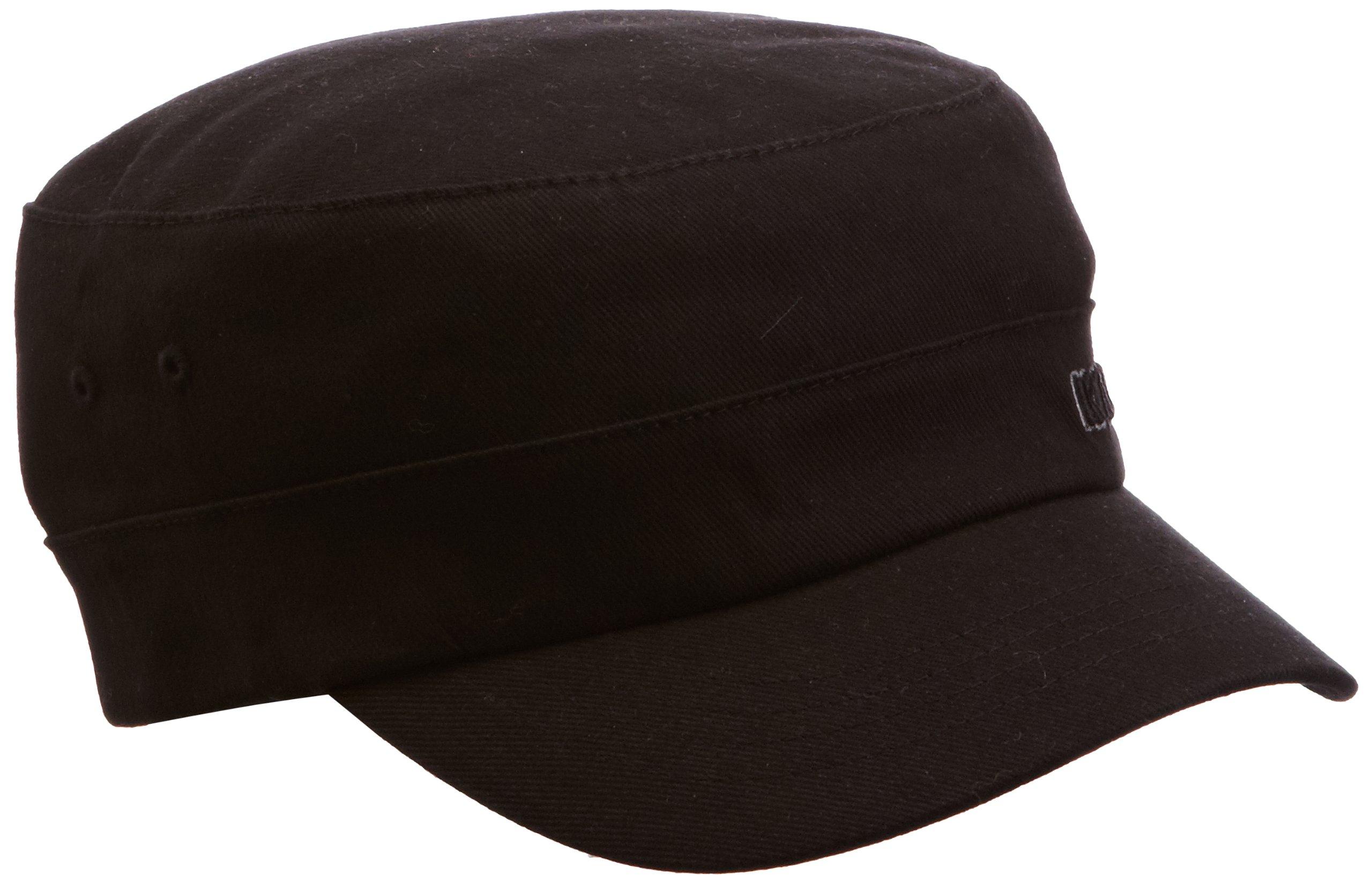 Kangol Men's Flexfit Army Cap, Black Small/Medium