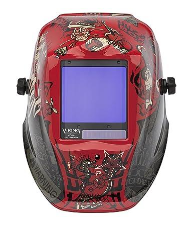 Lincoln eléctrica Viking 3350 Mojo casco de soldadura con tecnología ...