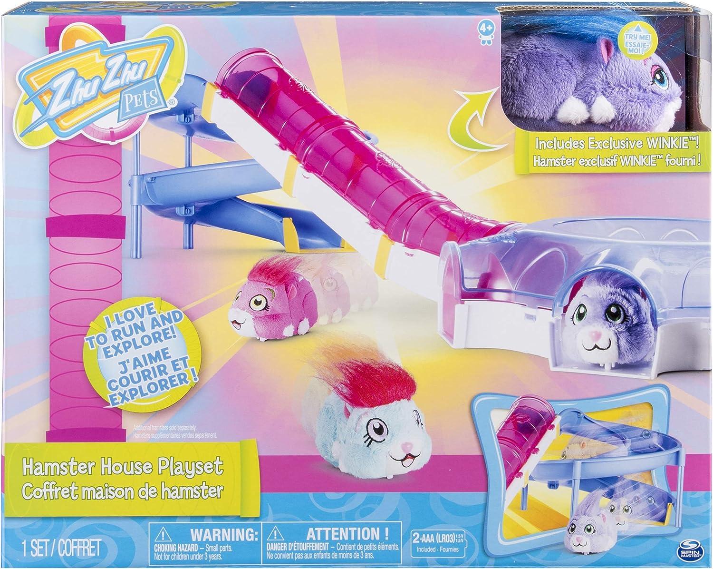 Zhu Zhu Pets- Casa de hámster (Spin Master Toys UK Ltd 20088771)