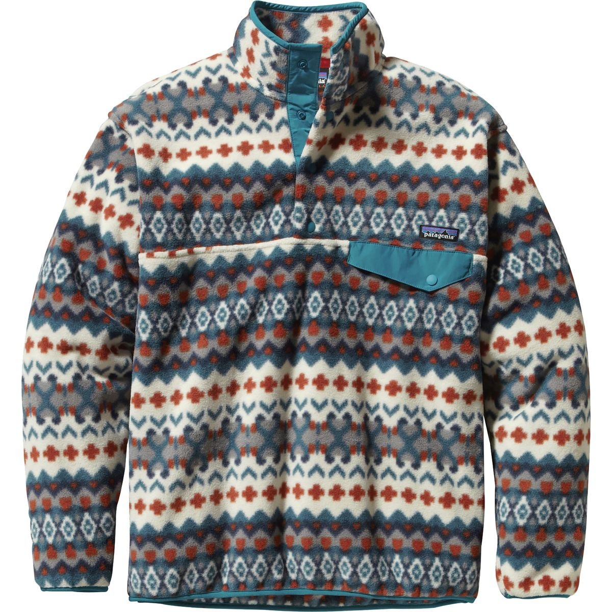 Patterned Patagonia Fleece New Inspiration