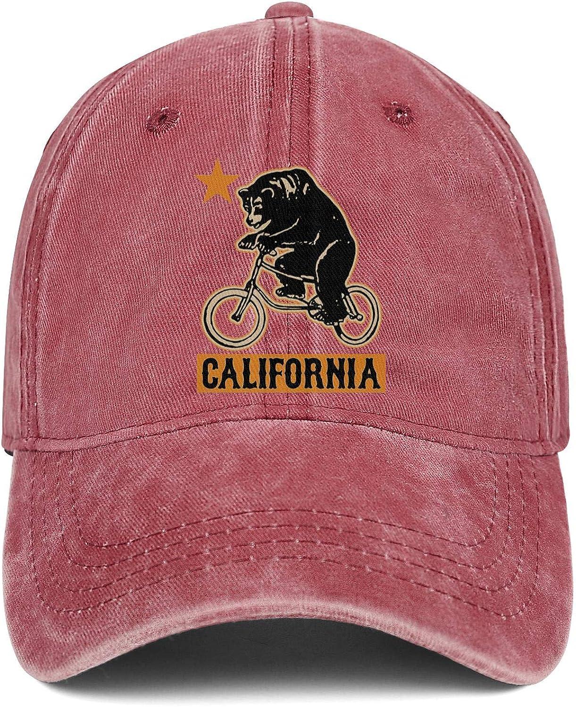 SNEFUEE Men Women Delaware Blue Hen Chicken Cap Trendy Denim Cowboy Hat Workout Caps