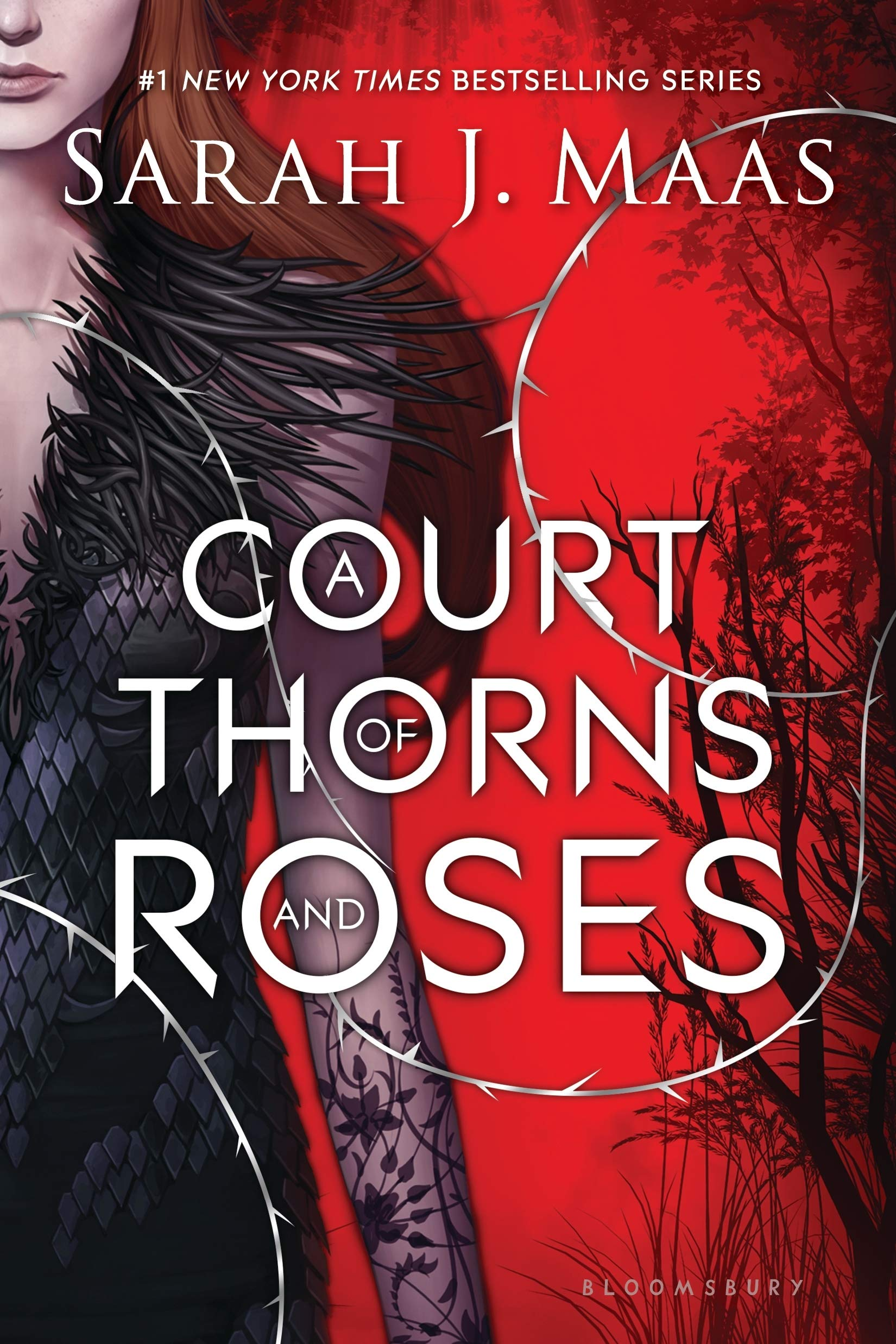 Image result for a court of thorns and roses series