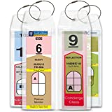 Cruise Tag Caddy Narrow Luggage Tag Holders for Royal Caribbean & Celebrity Cruise Ships