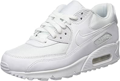 Nike Air MAX 90 Leather, Zapatillas para Hombre: Amazon.es: Zapatos y complementos