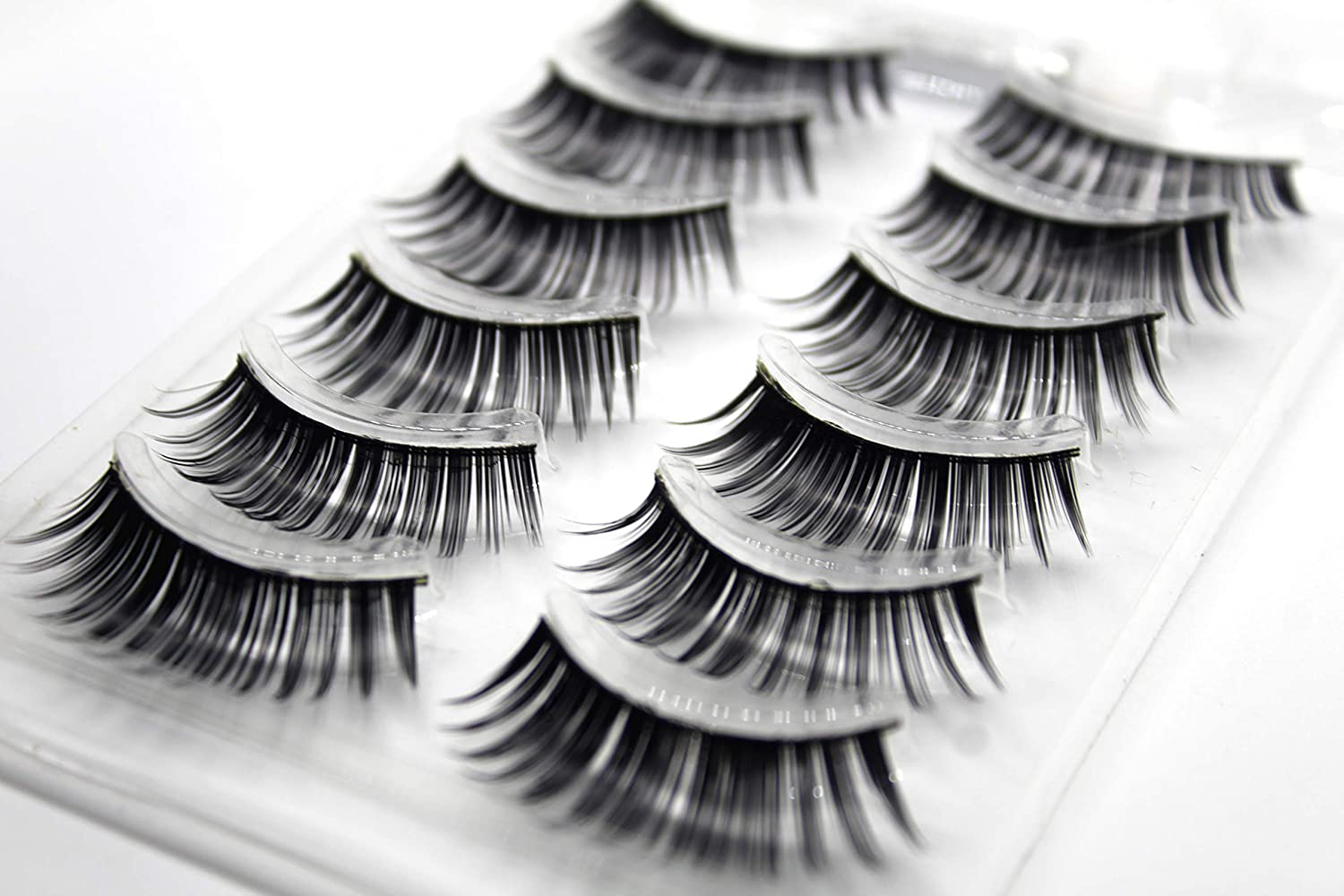 c37e537a727 SoSh Imported False EyeLashes 1 Box 6 Pairs(Total 6 Pair) Thick Black False Eyelashes  Makeup Tips Natural Smoky Makeup Long Fake HandMade Eye Lashes 6 Pair ...