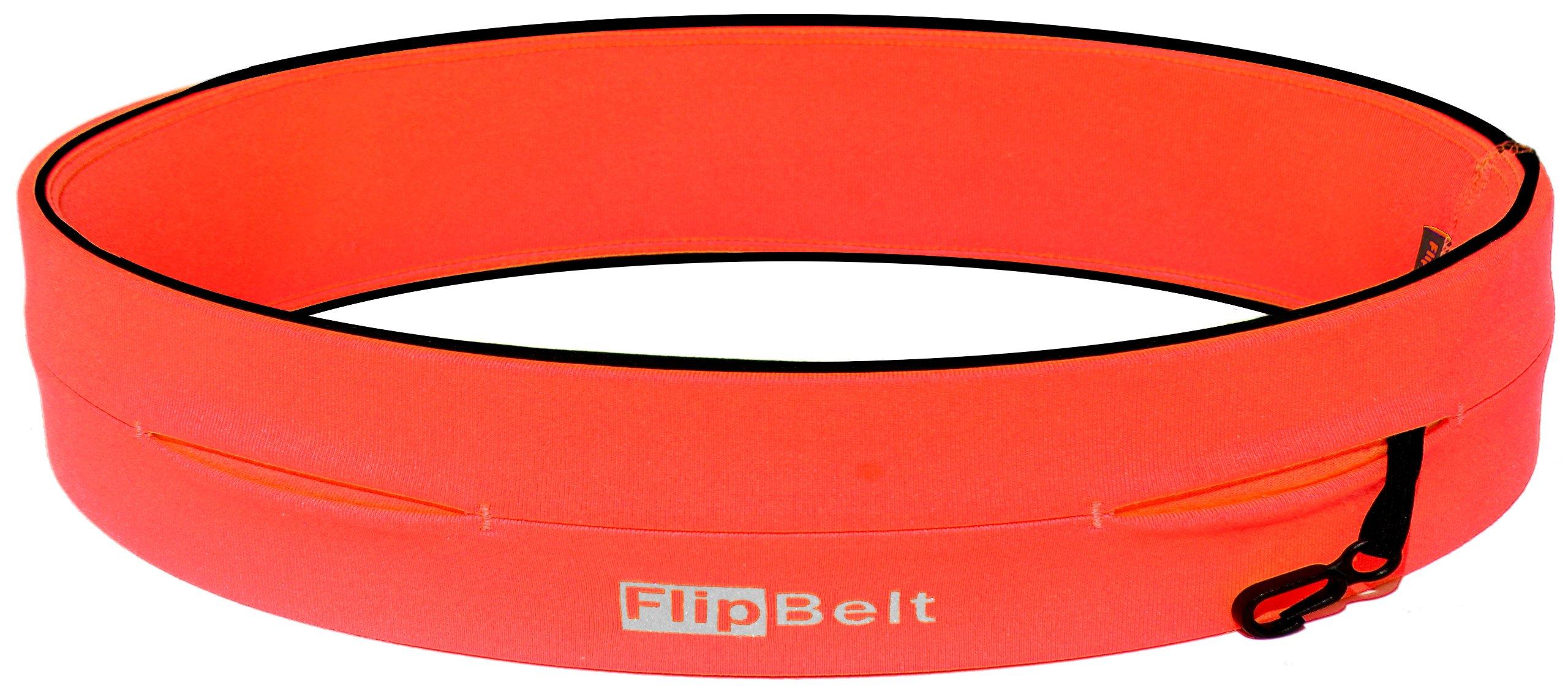 FlipBelt Level Terrain Waist Pouch, Neon Punch, X-Small/22-25'' by FlipBelt (Image #1)