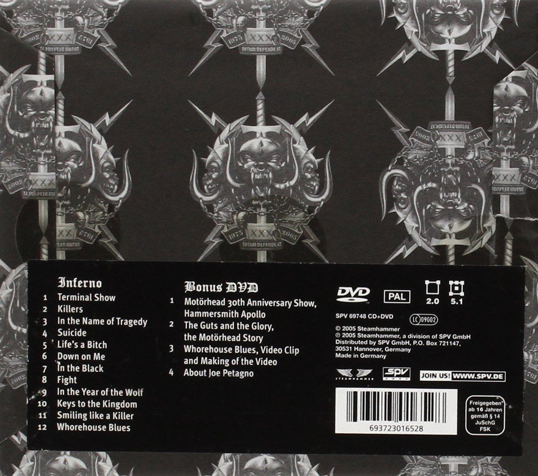 CD Review: MotorheadInferno new pics