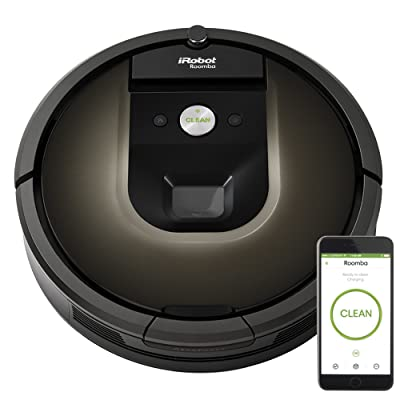 iRobot Roomba 980 Robot Vacuum with Wi-Fi Connectivity, Works with Alexa