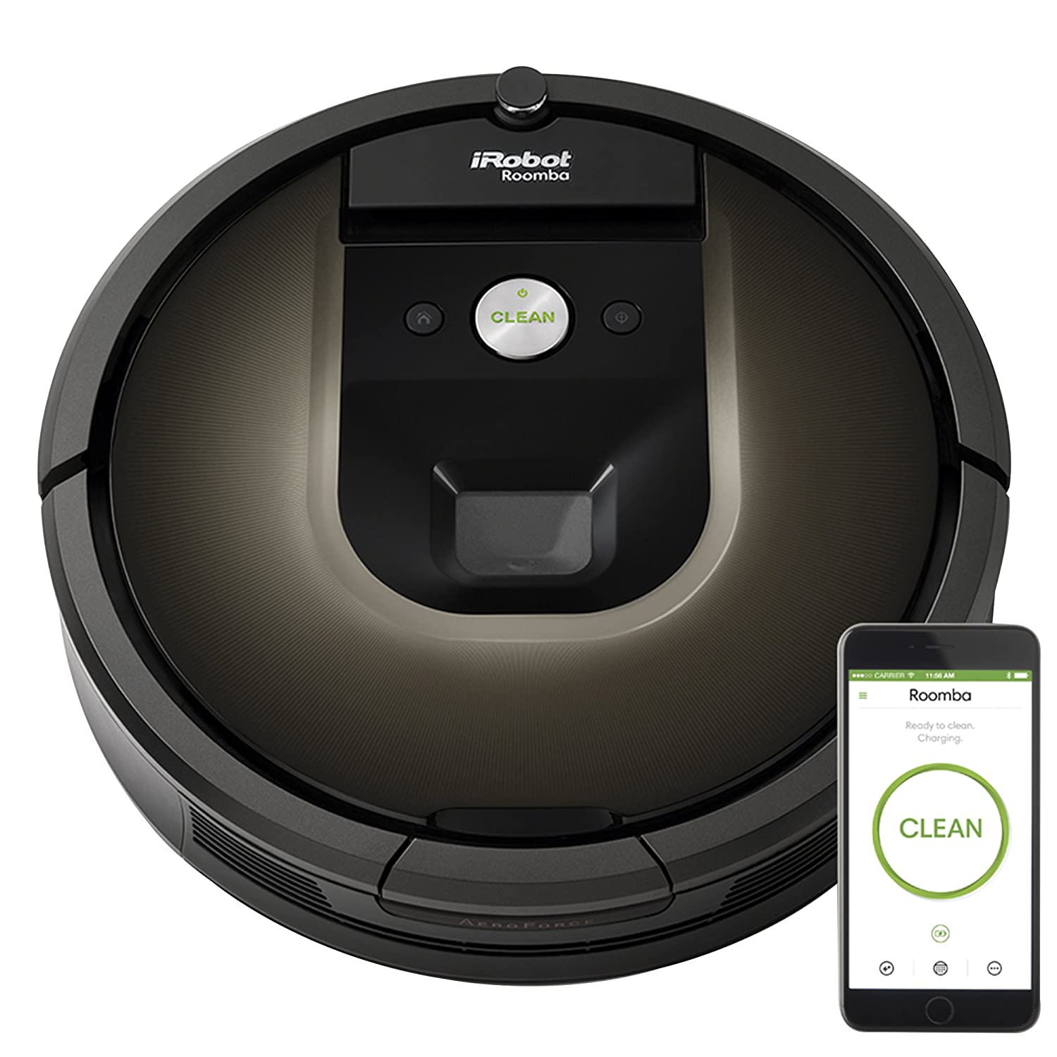 iRobot Roomba 980 Robotic Vacuum Cleaner – Best Robot Vacuum Cleaner for Carpets