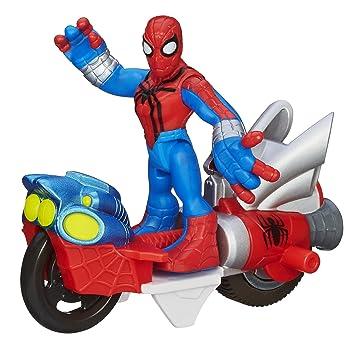 playskool heroes a3103 marvel adventures spider man figurine 6 cm