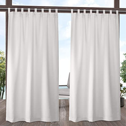 Reviewed: Exclusive Home Curtains Indoor/Outdoor Solid Cabana Tab Top Curtain Panel Pair