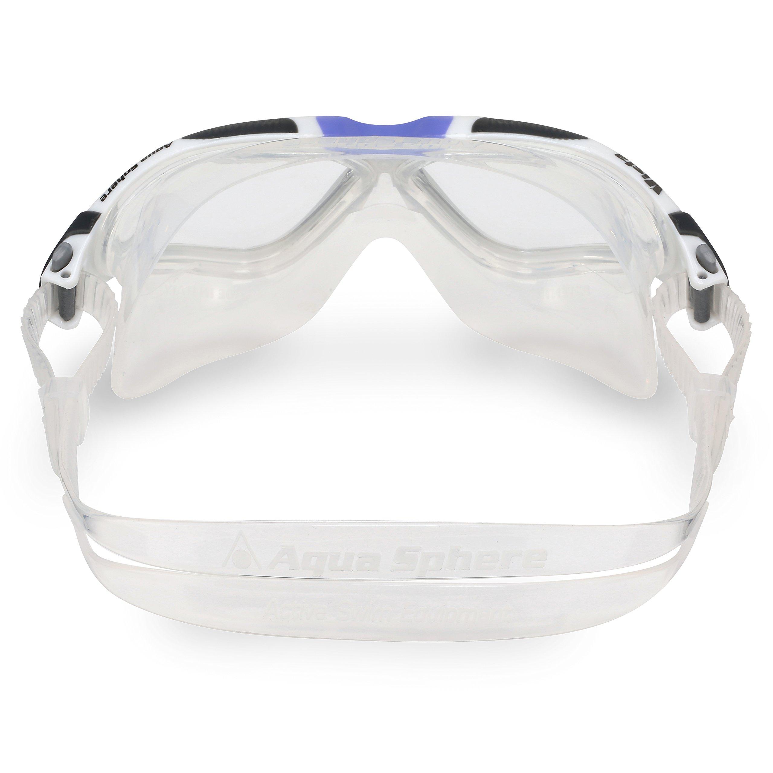 Aqua Sphere Vista Ladies Swimming Goggles - Swim Mask - White Lavender 7bf20ad6e894