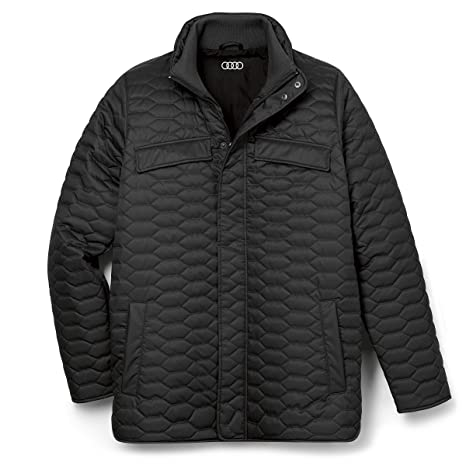 Audi collection Chaqueta Acolchada para Hombre. Negro XX ...