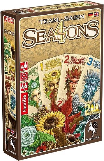 Pegasus Juegos 18281 g 4 Seasons, Juego de Cartas: Amazon.es: Juguetes y juegos