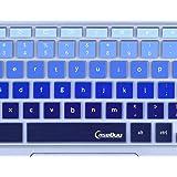 "For Samsung Chromebook Keyboard Cover, Ultra Thin Keyboard Skin for Samsung ARM 11.6"" Chromebook 2 XE500C12, Chromebook 3 XE500C13 11.6 inch Chromebook, Gradual Blue"