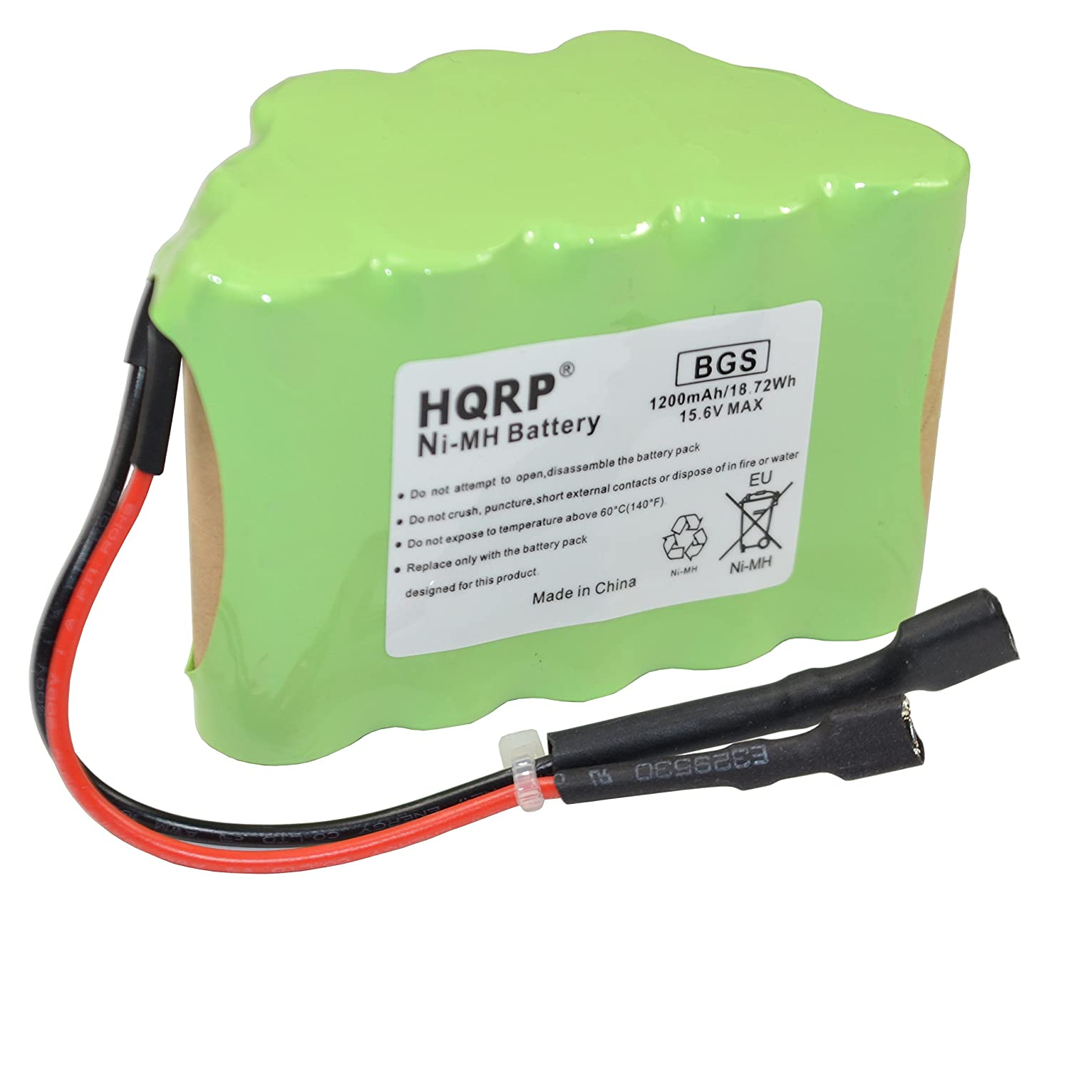 HQRP Battery for Shark XB75N SV75-N SV75Z-N SV75C-N SV75SP-N N-Series SV75_N, SV75Z_N, SV75SP_N, SV75N SV7514-N Cordless Pet Perfect Hand Vacuum Euro-Pro Shark-Ninja + Coaster