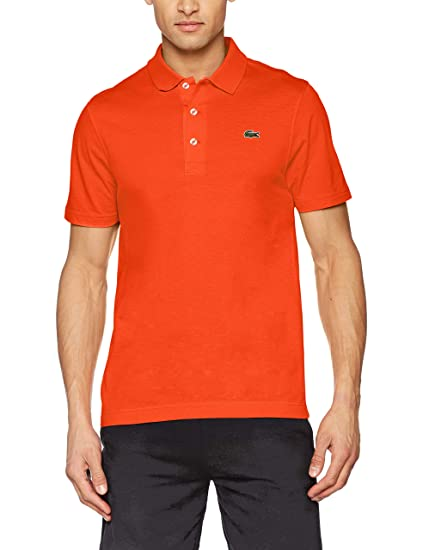 adfb4efd Lacoste Sport - Polo Sport Fit Men - L1230 Red: Amazon.co.uk: Clothing