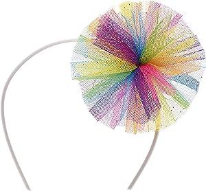 Build A Bear Workshop Rainbow Tulle Headband