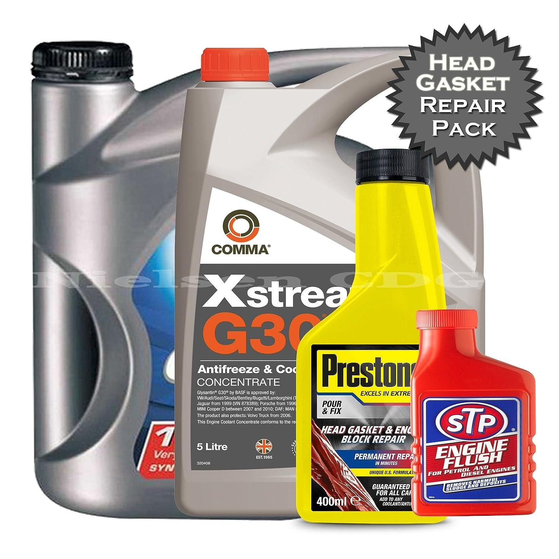 Total Quartz 7000 10 W405l Head Dichtung Und Motor Block Repair Mini Cooper Engine Coolant Pack 04 Auto