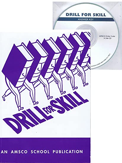 Amazon com : Drill for Skill with Answer Key : Everything Else