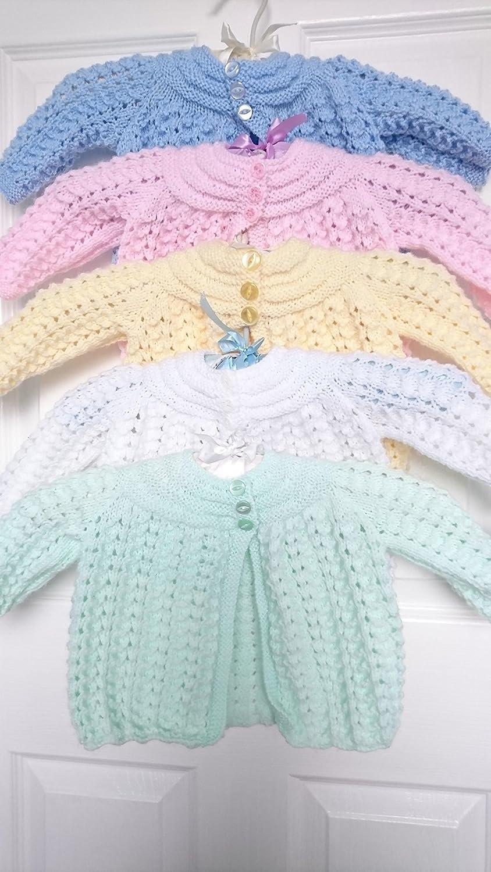 3301b0f85 Arlo - Newborn hand knitted