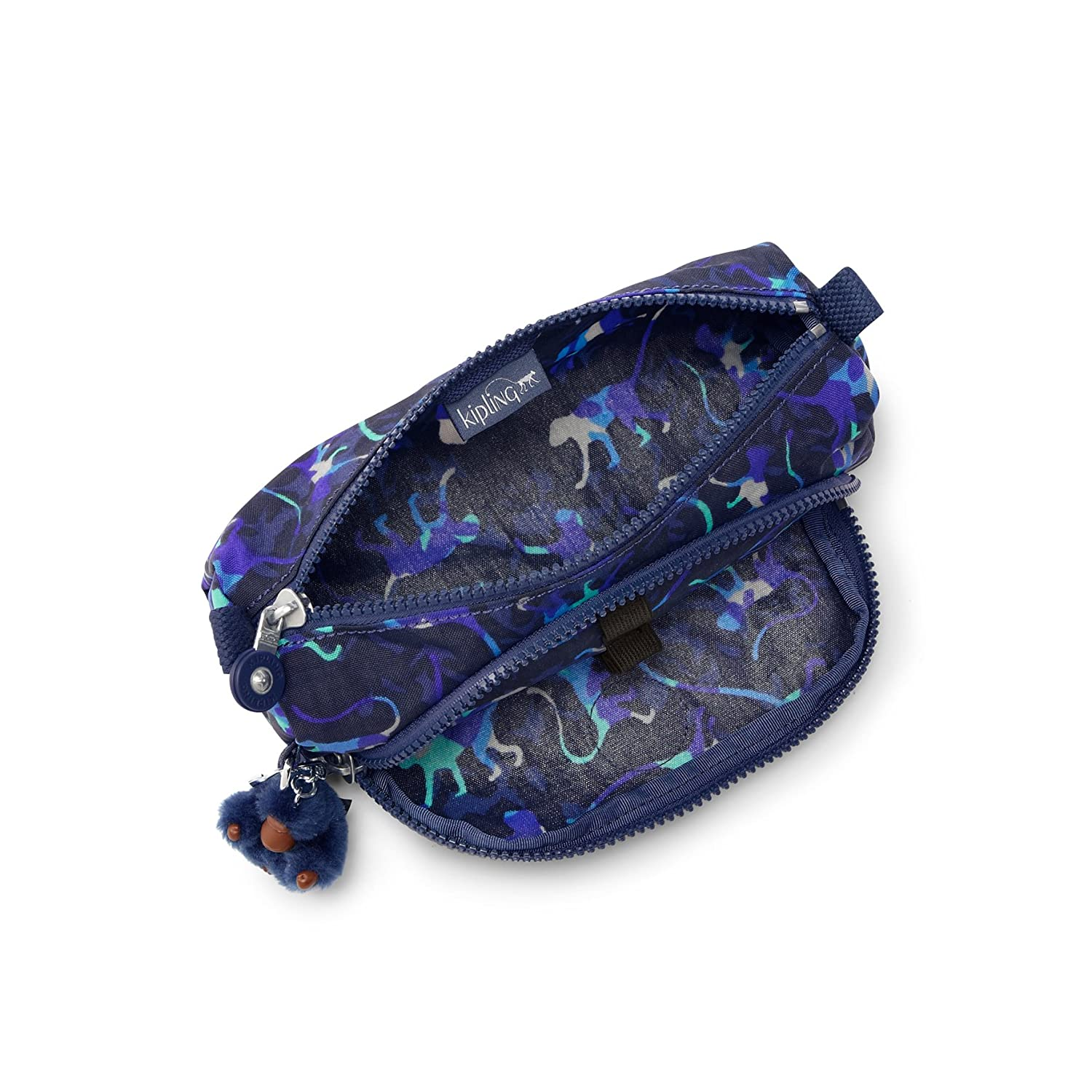 Amazon.com: Kipling School Bag Cute Blue (Camou Pr Blue) K09406B45: The Necessity limited