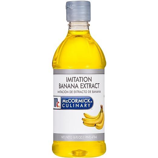 Amazon.com : McCormick Culinary Imitation Banana Extract, 16 fl oz ...
