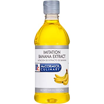 Amazon.com : McCormick Culinary Imitation Banana Extract, 16 fl oz ...